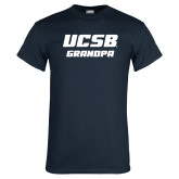 Navy T Shirt-Grandpa