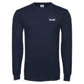 Navy Long Sleeve T Shirt-Primary