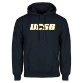 Navy Fleece Hoodie-UCSB