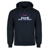 Navy Fleece Hoodie-Dare to be Great