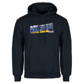 Navy Fleece Hoodie-2017 Womens Cross Country Champions