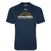 Under Armour Navy Tech Tee-Fastbreakers Ticket and Legacy Holders