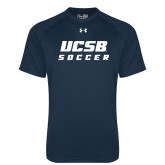 Under Armour Navy Tech Tee-Soccer