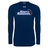 Under Armour Navy Long Sleeve Tech Tee-Santa Barbara with Hat