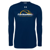 Under Armour Navy Long Sleeve Tech Tee-Fastbreakers Ticket and Legacy Holders
