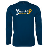 Performance Navy Longsleeve Shirt-Gauchos 9