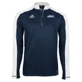 Adidas Modern Navy Varsity 1/4 Zip-Santa Barbara with Hat
