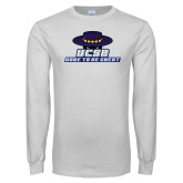 White Long Sleeve T Shirt-Dare to be Great