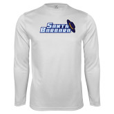 Syntrel Performance White Longsleeve Shirt-Santa Barbara with Hat