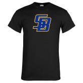 Black T Shirt-Interlocking SB