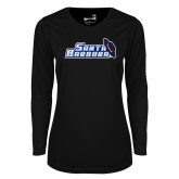 Ladies Syntrel Performance Black Longsleeve Shirt-Santa Barbara with Hat