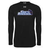 Under Armour Black Long Sleeve Tech Tee-Santa Barbara with Hat