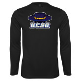 Performance Black Longsleeve Shirt-Primary