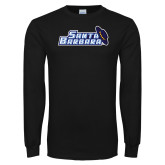 Black Long Sleeve T Shirt-Santa Barbara with Hat