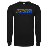 Black Long Sleeve T Shirt-UCSB