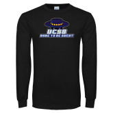 Black Long Sleeve T Shirt-Dare to be Great