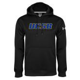 Under Armour Black Performance Sweats Team Hood-UCSB