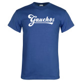 Royal T Shirt-Gauchos Script