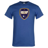 Royal T Shirt-UCSB Soccer Shield