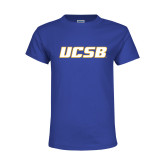 Youth Royal T Shirt-UCSB