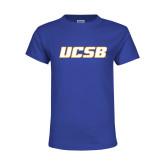 Youth Royal T Shirt-UCSB