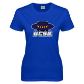 Ladies Royal T Shirt-Primary, Custom Tee w/ Name and #