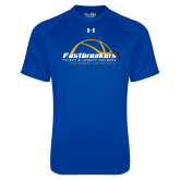 Under Armour Royal Tech Tee-Fastbreakers Ticket and Legacy Holders