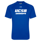 Under Armour Royal Tech Tee-Grandpa