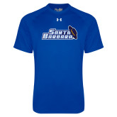 Under Armour Royal Tech Tee-Santa Barbara with Hat