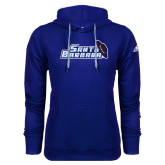 Adidas Climawarm Royal Team Issue Hoodie-Santa Barbara with Hat