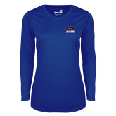 Ladies Syntrel Performance Royal Longsleeve Shirt-Primary