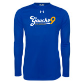 Under Armour Royal Long Sleeve Tech Tee-Gauchos 9