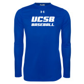 Under Armour Royal Long Sleeve Tech Tee-Baseball