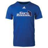 Adidas Royal Logo T Shirt-Santa Barbara with Hat