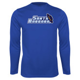 Syntrel Performance Royal Longsleeve Shirt-Santa Barbara with Hat