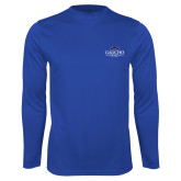 Performance Royal Longsleeve Shirt-Gaucho Fund