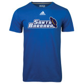 Adidas Climalite Royal Ultimate Performance Tee-Santa Barbara with Hat