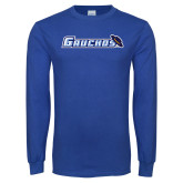 Royal Long Sleeve T Shirt-Gauchos with Hat