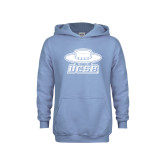 Youth Light Blue Fleece Hoodie-Primary