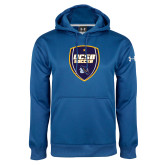 Under Armour Royal Performance Sweats Team Hood-UCSB Soccer Shield