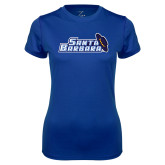 Ladies Syntrel Performance Royal Tee-Santa Barbara with Hat