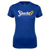 Ladies Syntrel Performance Royal Tee-Gauchos 9