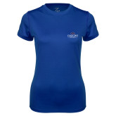 Ladies Syntrel Performance Royal Tee-Gaucho Fund