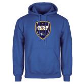 Royal Fleece Hoodie-UCSB Soccer Shield