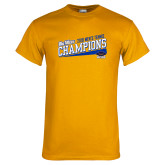Gold T Shirt-2018 Mens Tennis Champions