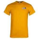Gold T Shirt-Santa Barbara with Hat
