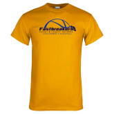 Gold T Shirt-Fastbreakers Ticket and Legacy Holders