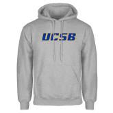 Grey Fleece Hoodie-UCSB