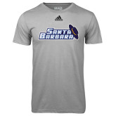 Adidas Climalite Sport Grey Ultimate Performance Tee-Santa Barbara with Hat