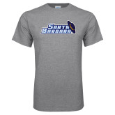 Grey T Shirt-Santa Barbara with Hat